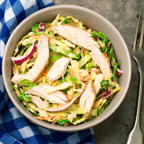 summer-recipes-for-seniors-cabbage-chicken-salad