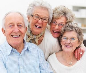 Home Care Services - A Group Of Happy Seniors