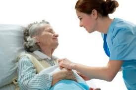 Certified Nursing Assistant - CNA Caring For Elderly Patient