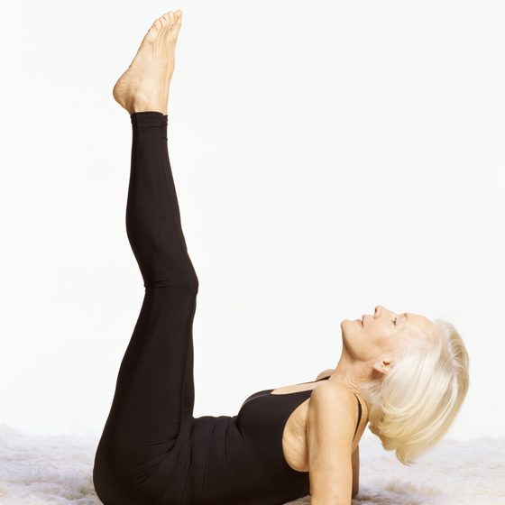 Indoor Exercises For Seniors - Woman Doing Yoga