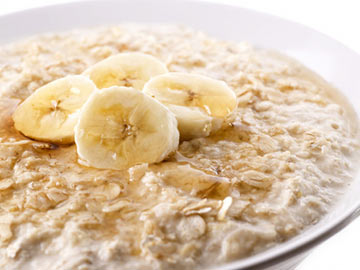 Recipes for Seniors - Banana Split Oatmeal