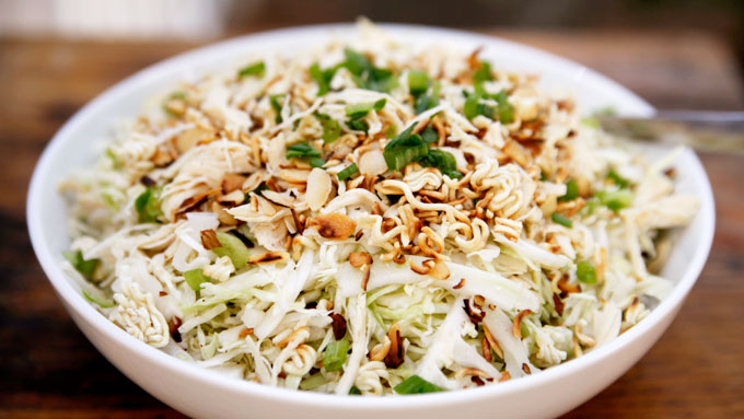 Recipes for Seniors - Chinese Chicken Cabbage Salad