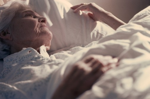Sleep For Seniors - Elderly Woman Laying In Bed