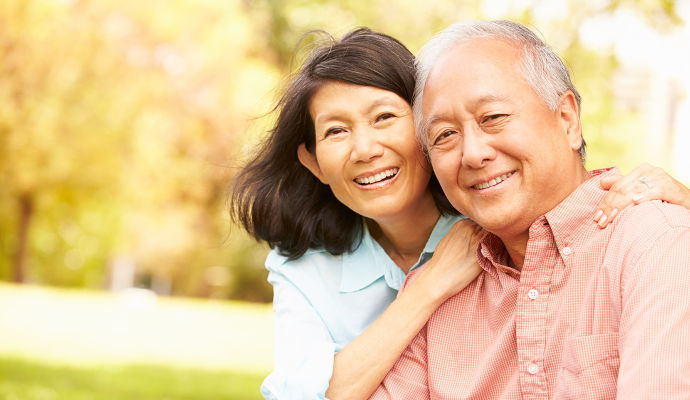 How To Talk To Your Parents' Doctor - A Senior-Aged Couple