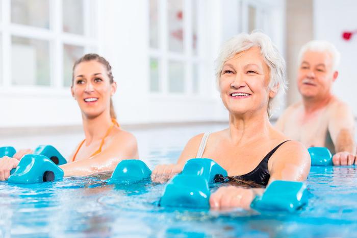 Activities For Seniors - Seniors Water Exercise Class