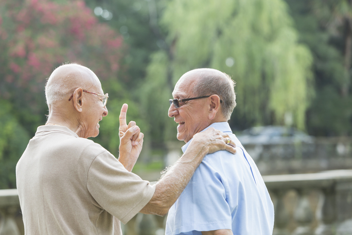 mens-health-month-Senior-Hispanic-man-and--his--father-90-plus-years