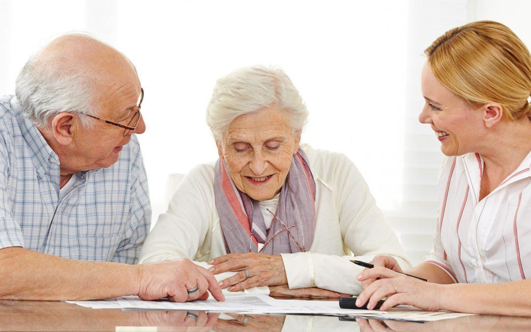 How To Talk To Your Parents' Doctor - Two Seniors Talking To A Geriatric Care Manager