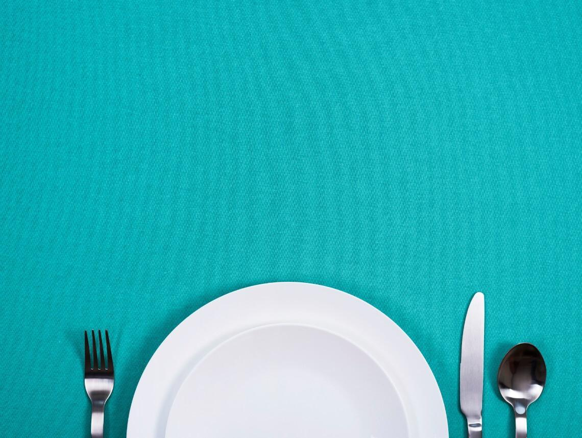 Loss Of Appetite In The Elderly - A Photo Of An Empty Plate