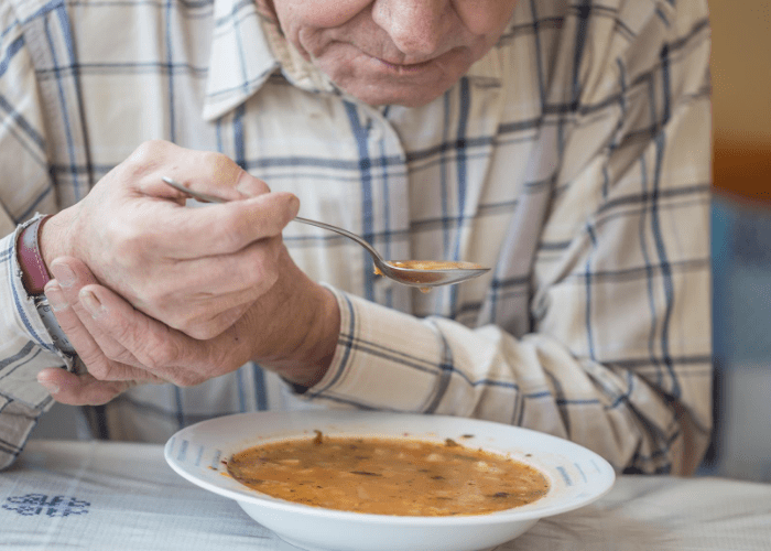 parkinsons-patient-eating-soup