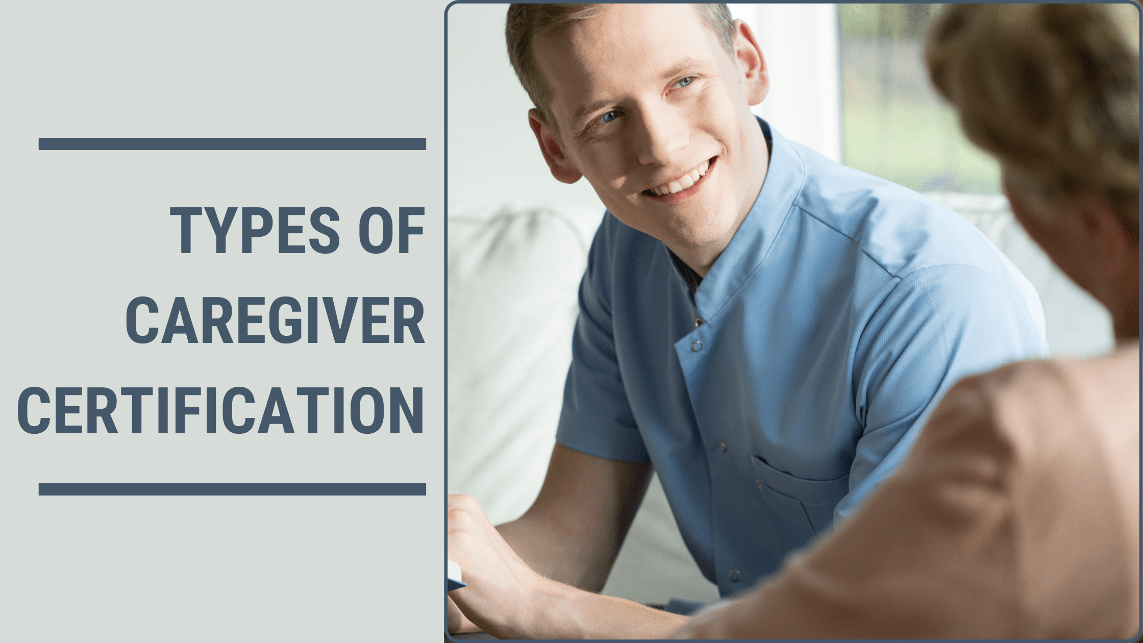Types Of Caregiver Certification