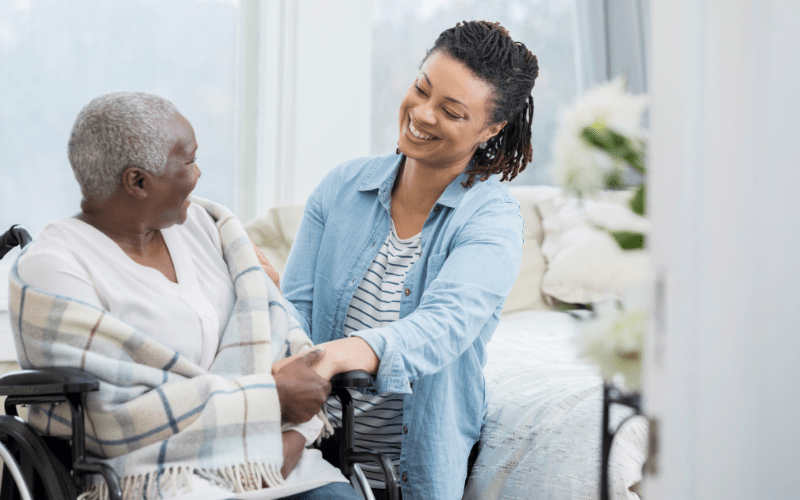 elderly-woman-hiring-a-caregiver-for-in-home-help